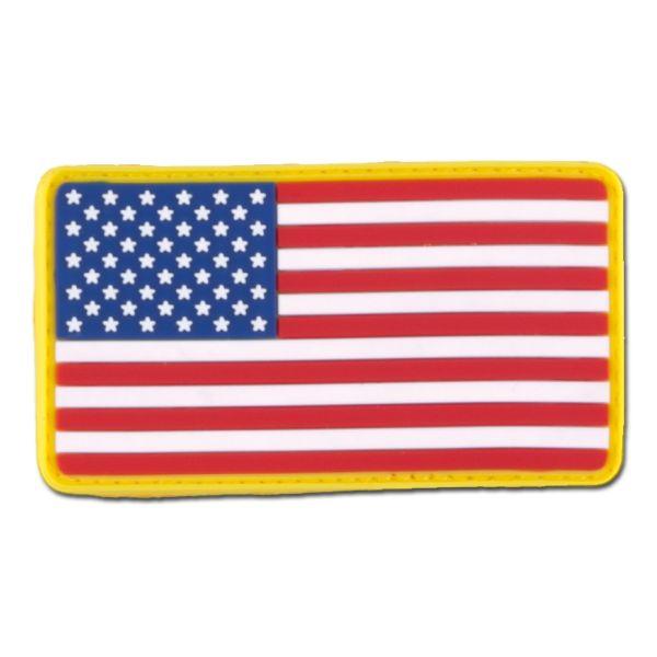 Parche 3D US Flag a colores
