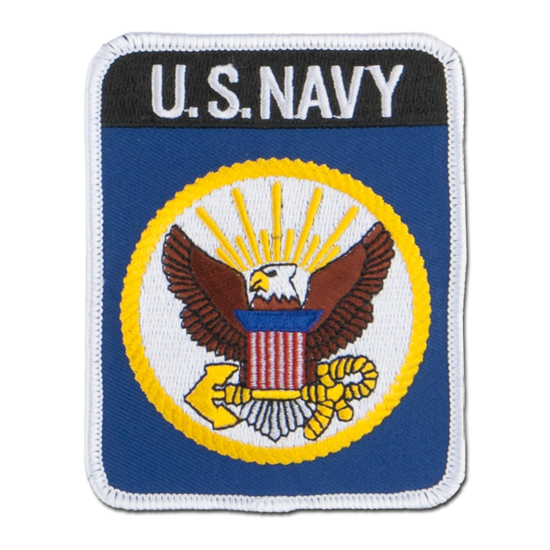 Insignia textil US Textil Navy rectangular