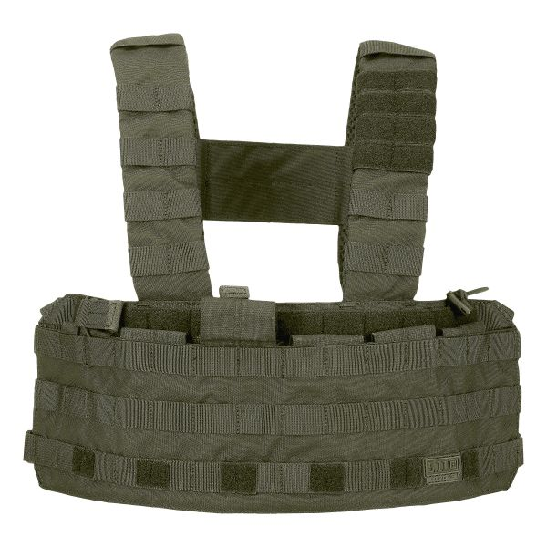 Chaleco 5.11 Chest Rig TacTec verde oliva