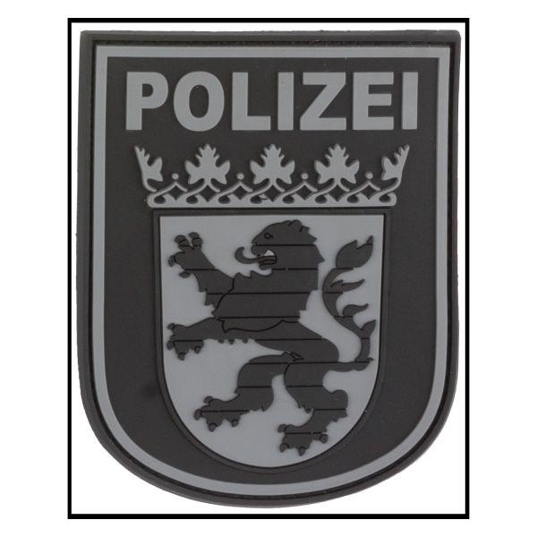 Parche - 3D Insignia de brazo Polizei Hessen blackops
