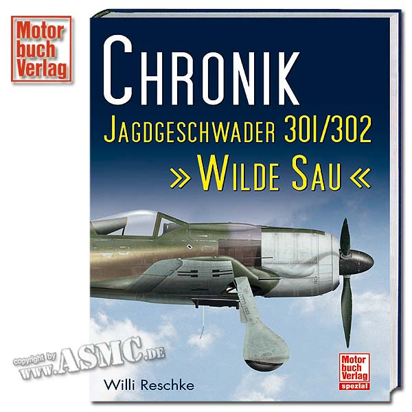 Libro Chronik Jagdgeschwader 301/302 Wilde Sau