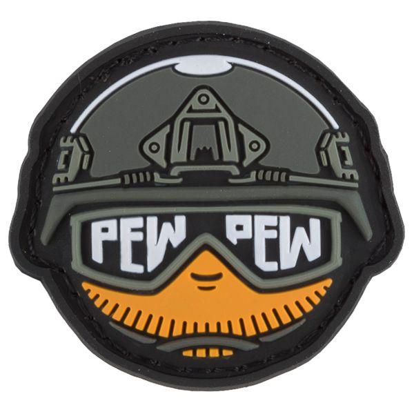 TacOpsGear 3D Parche PVC Tacticons Nr.25 Pew Pew Smiley Emoji