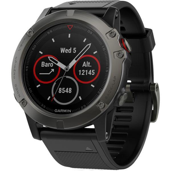 Reloj Garmin Fenix 5X zafiro gris