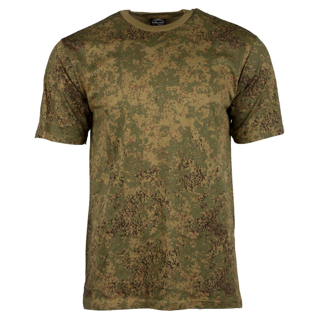 Camiseta rusa digital camo