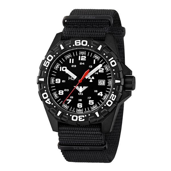 Reloj KHS Reaper OTAN negro