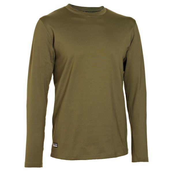 Camiseta manga larga Under Armour Tactical Infrared CG Crew oliv