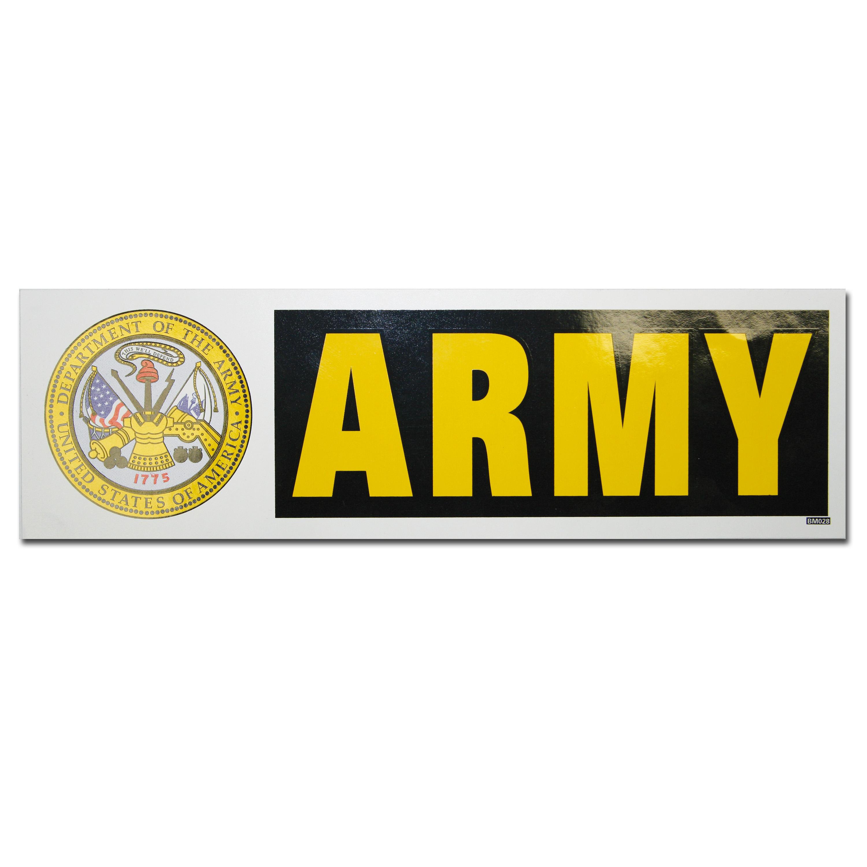 Pegatina Bumper ARMY
