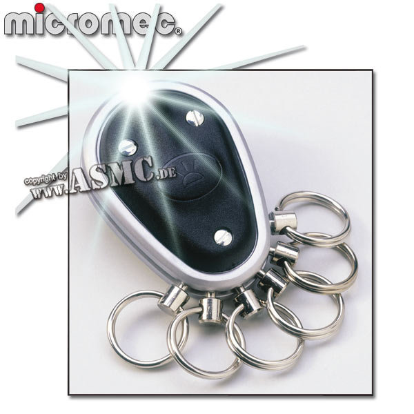 Llavero Micromec Key-Organizer negro