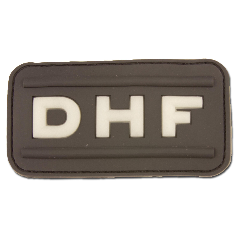 Parche de goma 3D DHF swat
