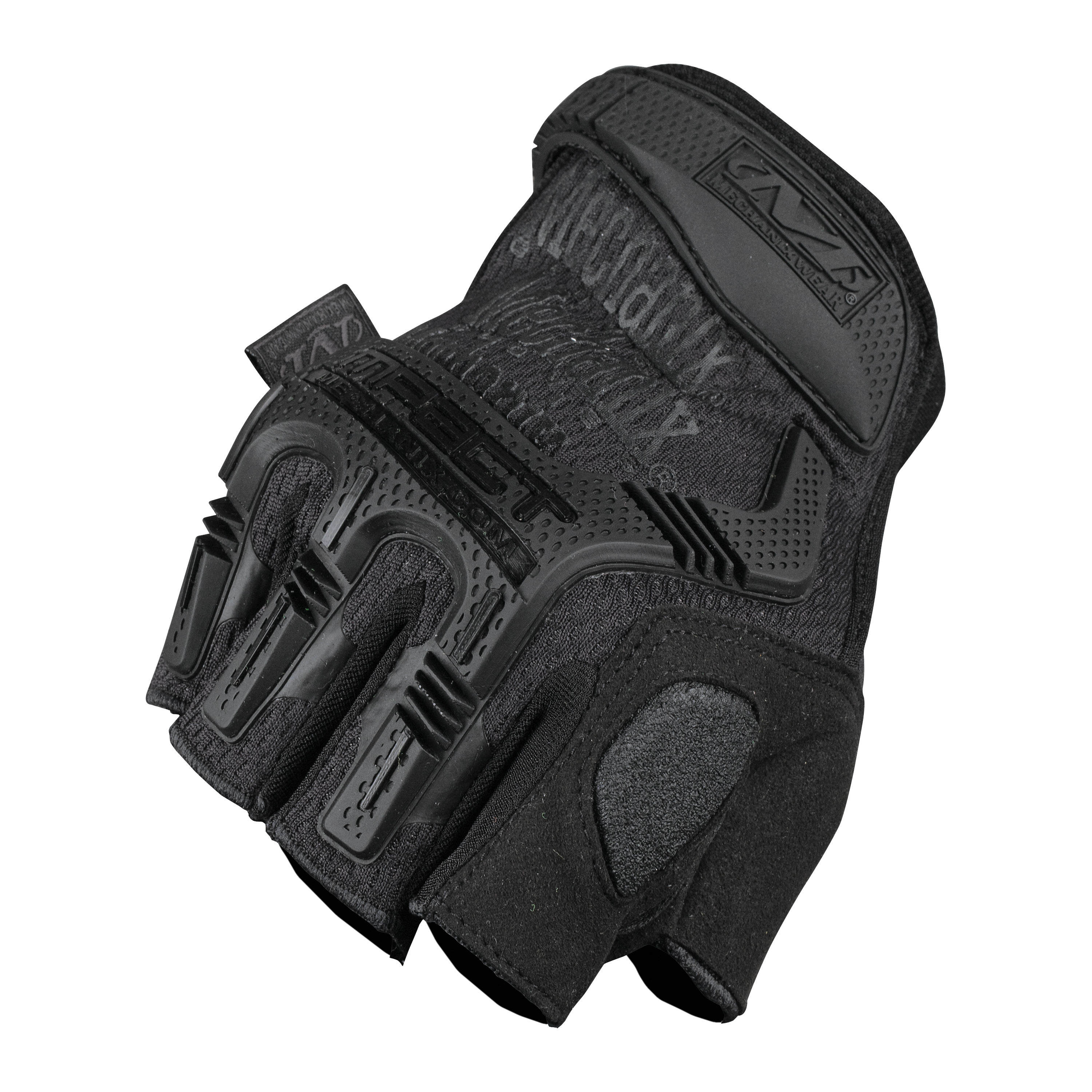 Guantes Mechanix M-Pact sin dedos covert