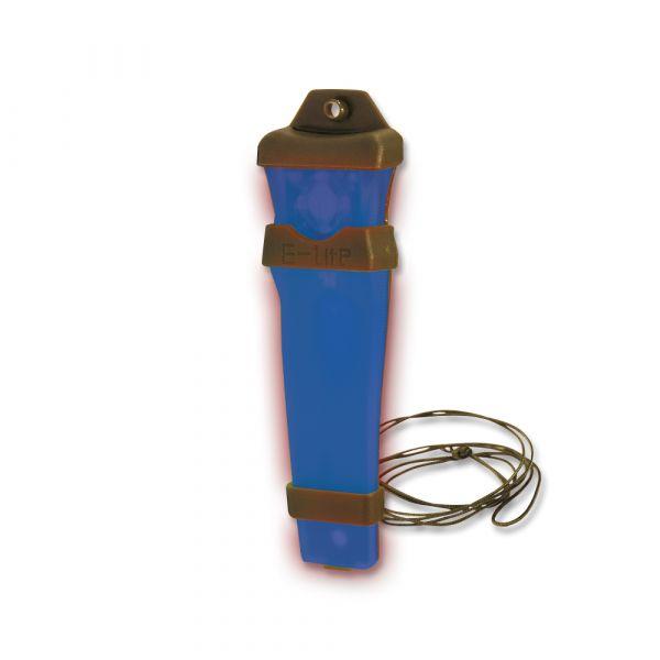 Fuente de luz E-Lite azul