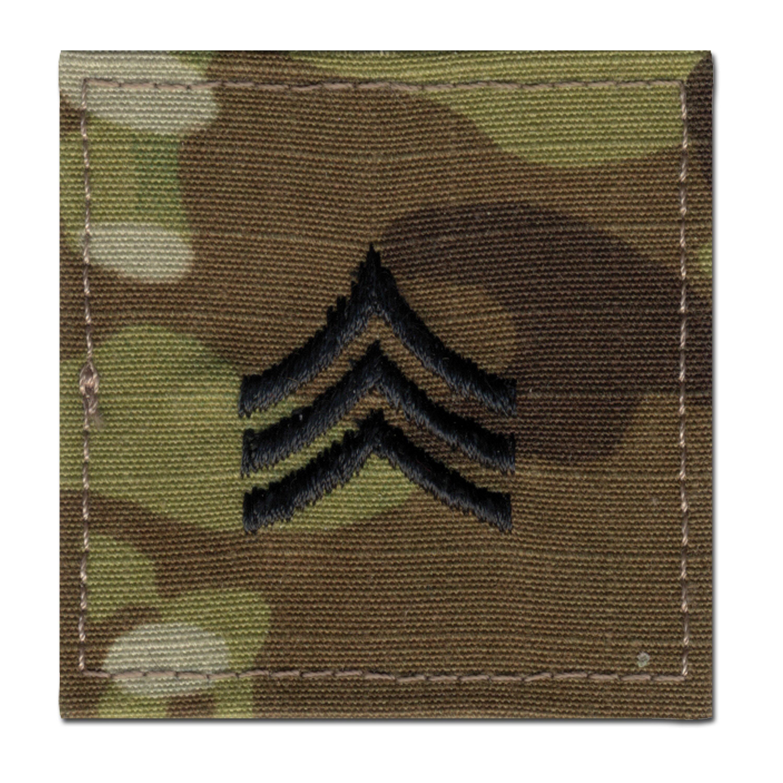 Distintivo de rango US Multicam Sergeant