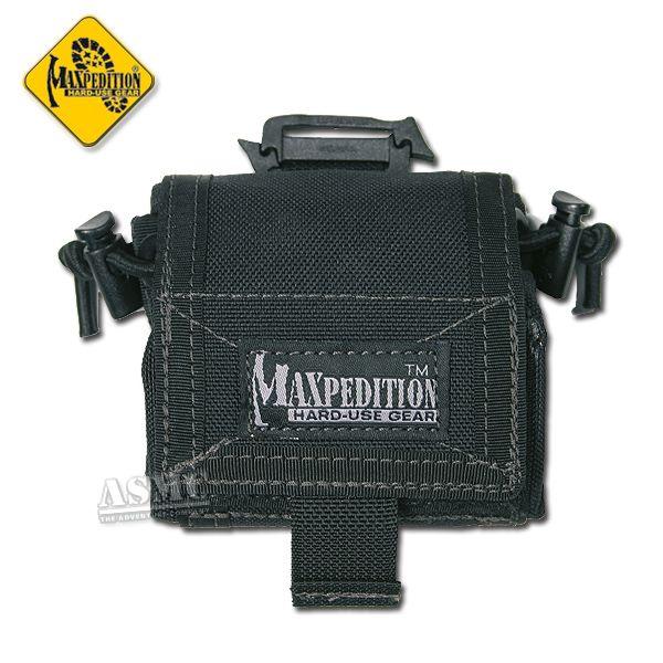 Bolsa para cinturón Maxpedition Rollypoly negra