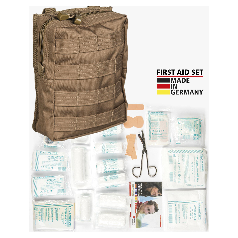 Kit de primeros auxilios Leina Pro 43-u. dark coyote