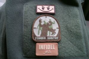 Infidel Patch coyote