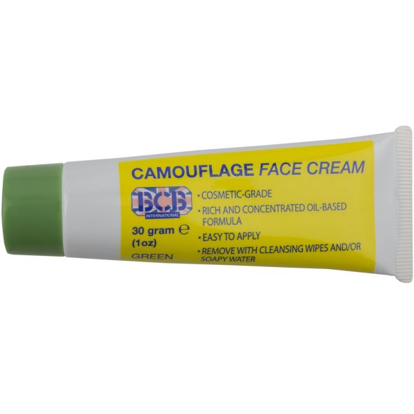 Crema de camuflaje Tube verde oliva