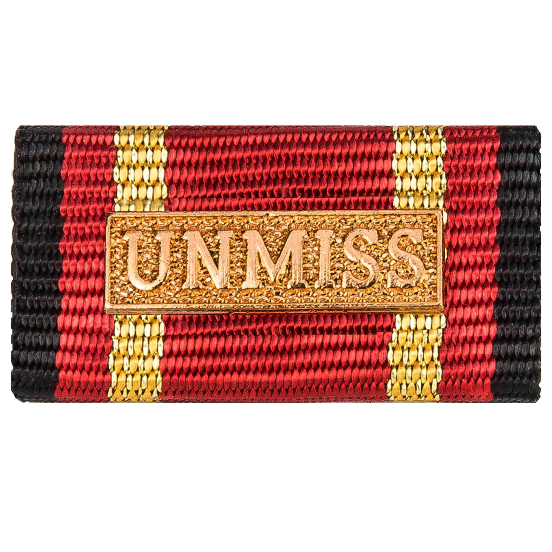 Medalla al servicio UNMISS gold