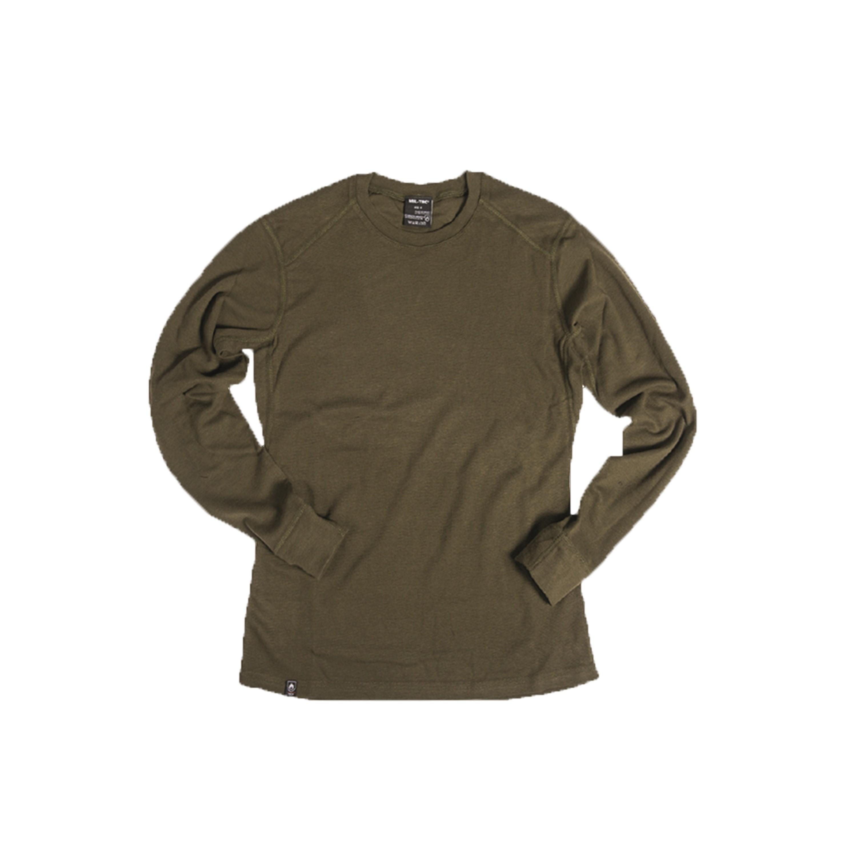 Camiseta ignífuga larga oliva