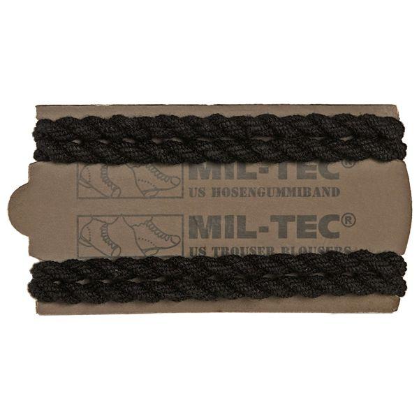 Mil-Tec US elástico de goma para pantalón 2 pares negro