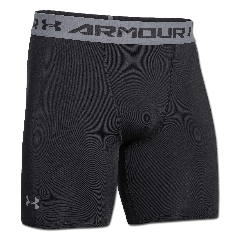 Under Armour pantalón corto HeatGear ARMOUR Compression negro