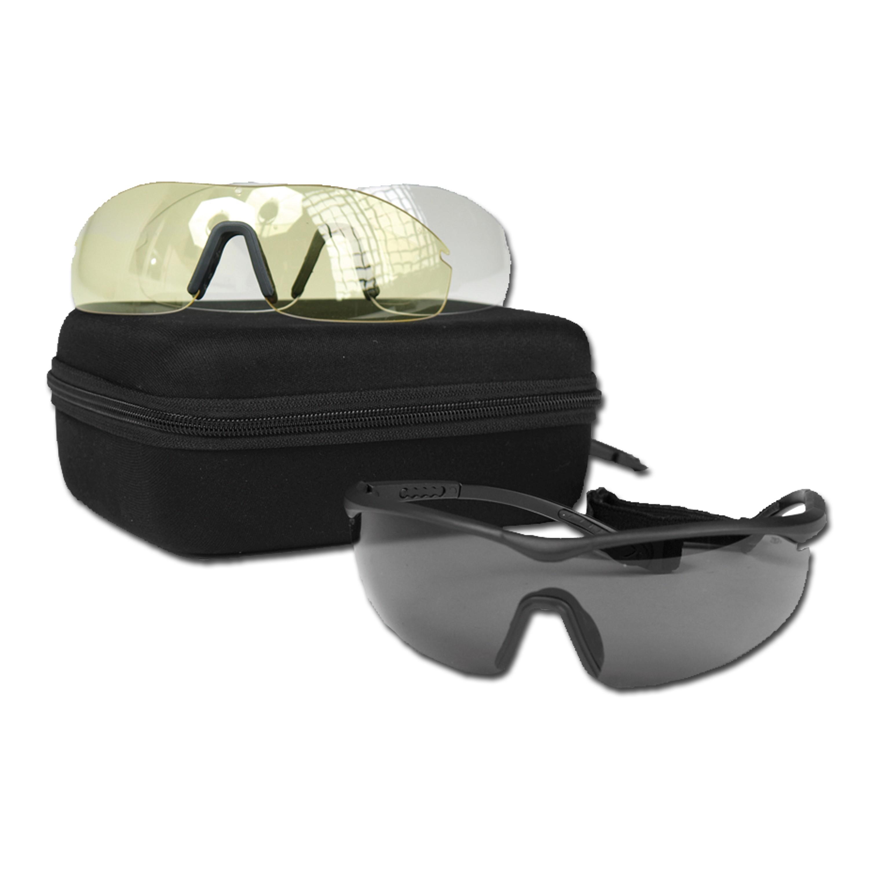 Gafas protectoras Mil-Tec -Set ANSI EN 166