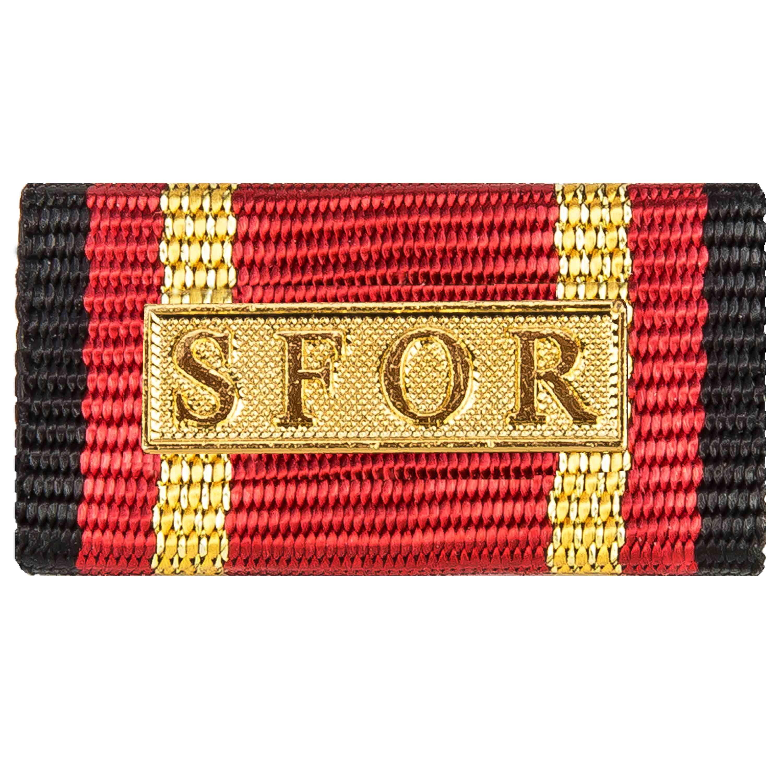 Medalla al servicio SFOR gold
