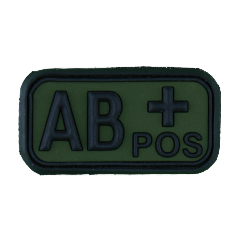 Parche - 3D TAP grupo sanguíneo AB Pos forest