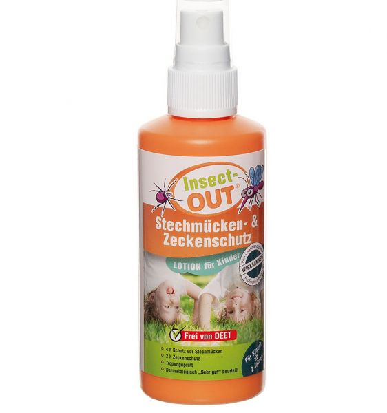 MFH Spray Insect-OUT repelente moquitos-garrapatas niños 100 ml