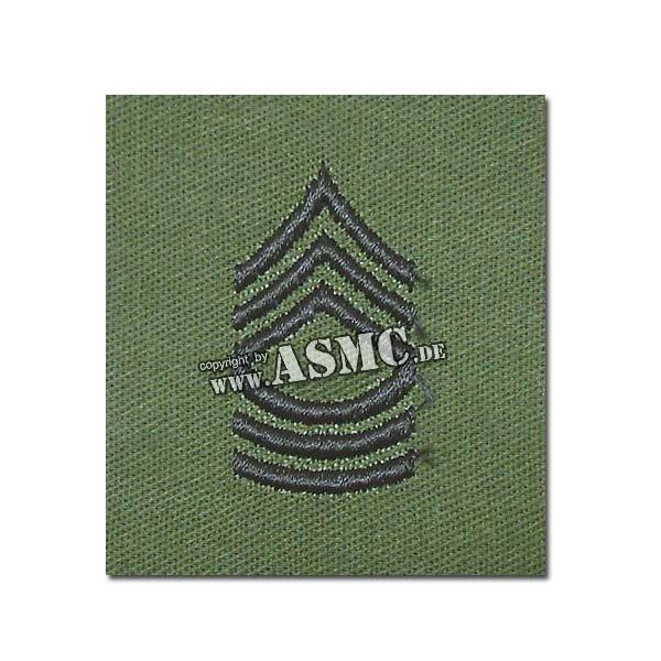 Distintivo de rango US textil Master Ser. verde oliva