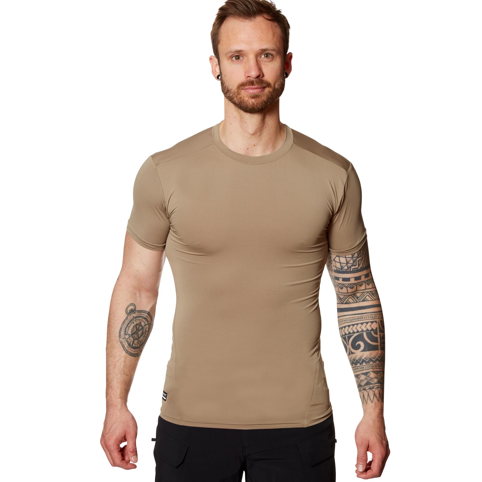 libertad gastar Ostentoso  Camiseta de compresión Under Armour Tactical HeatGear v. oliva