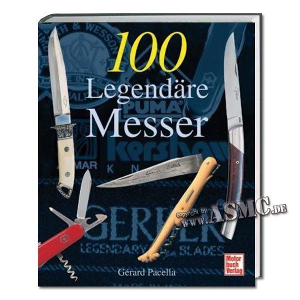Libro 100 legendäre Messer