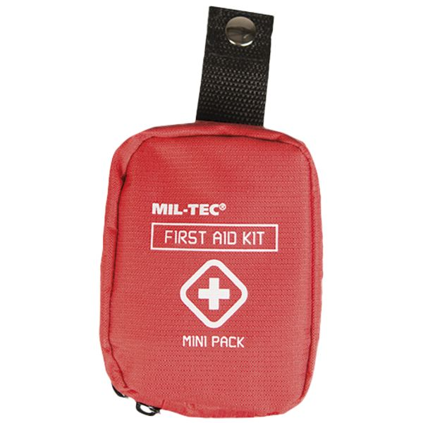 Kit primeros auxilios First Aid Pack Mini rojo