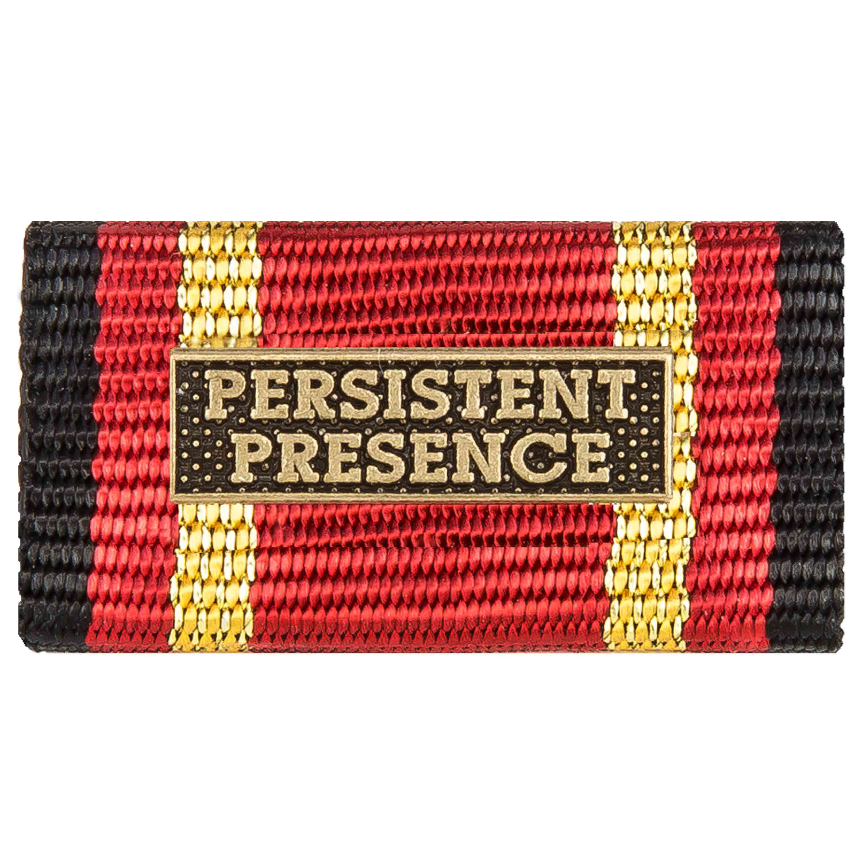 Medalla al servicio PERSISTENT PRESENCE bronce