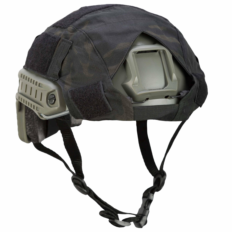 Funda para casco Invader Gear Fast Helmet Cover atp black