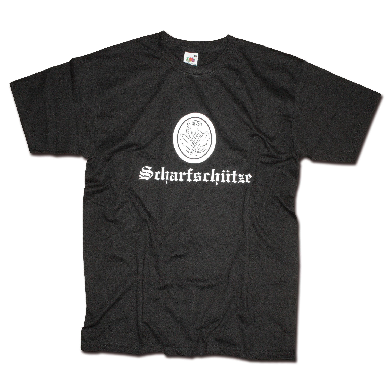 Camiseta Milty Scharfschütze negra