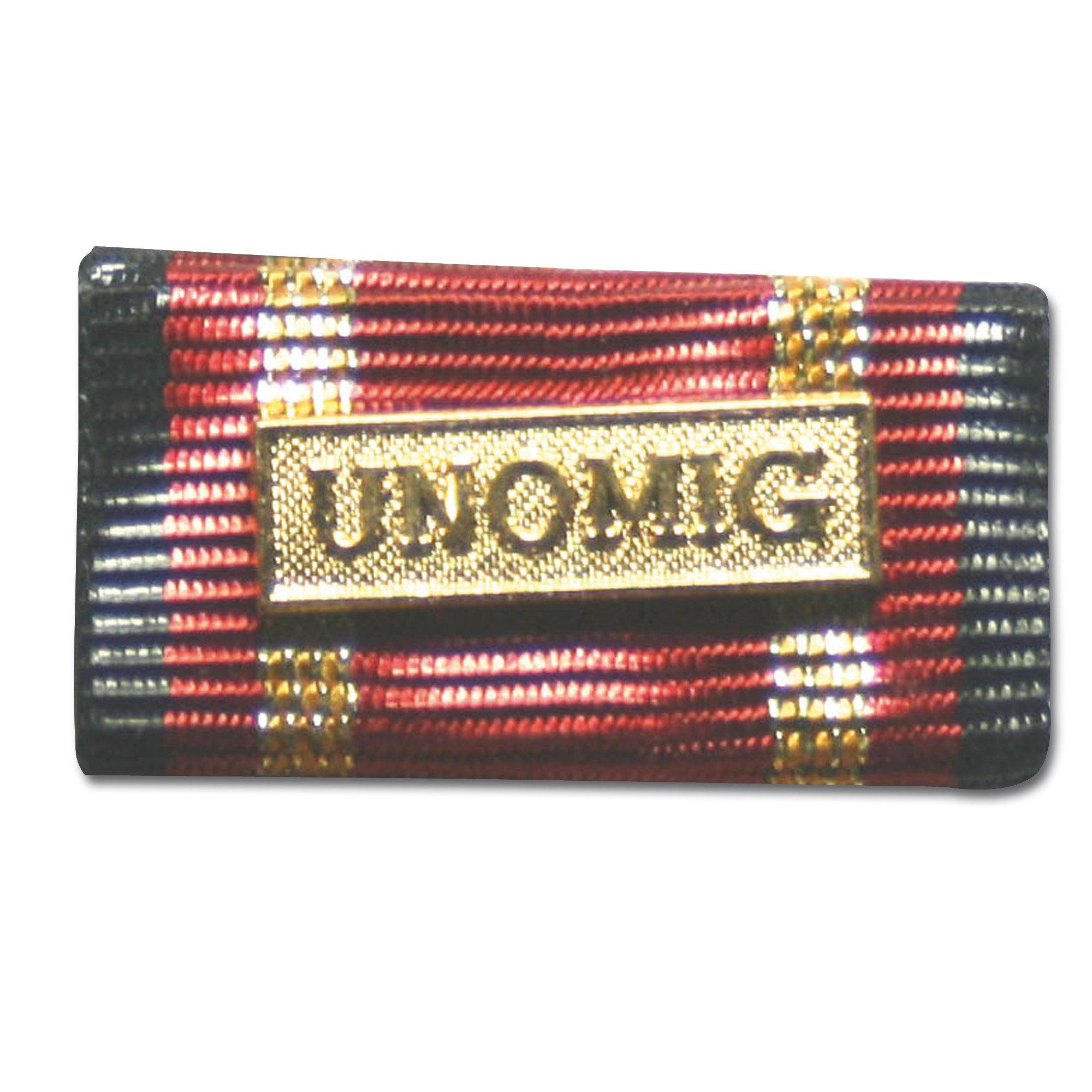 Medalla al servicio UNOMIG dorada
