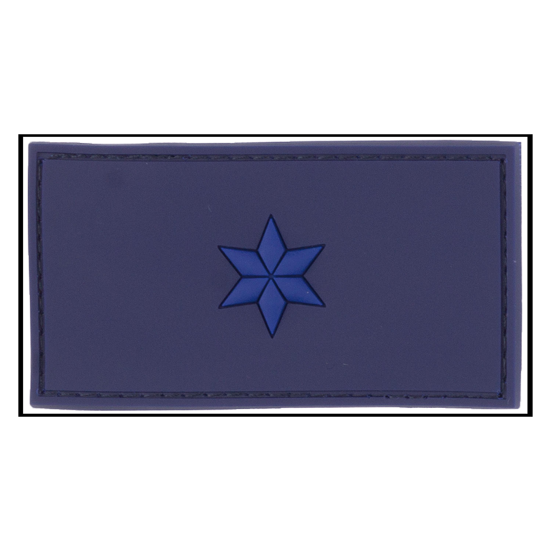 Parche - 3D Ins. de rango Polizeimeisteranwärter azul policial
