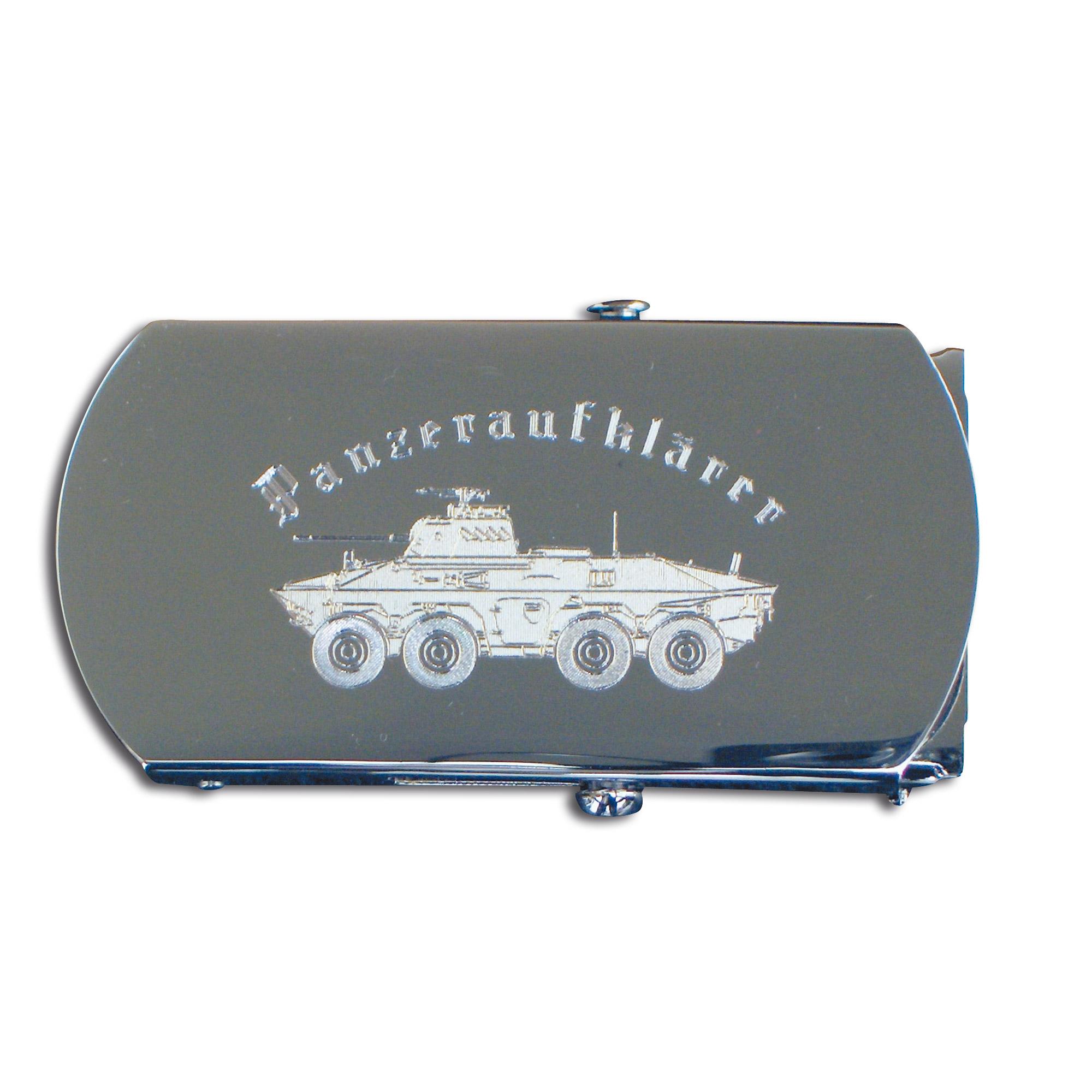 Cinturón con hebilla Panzeraufklärer