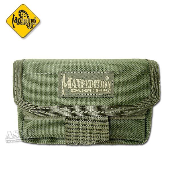 Estuche Maxpedition Volta Battery Case verde oliva