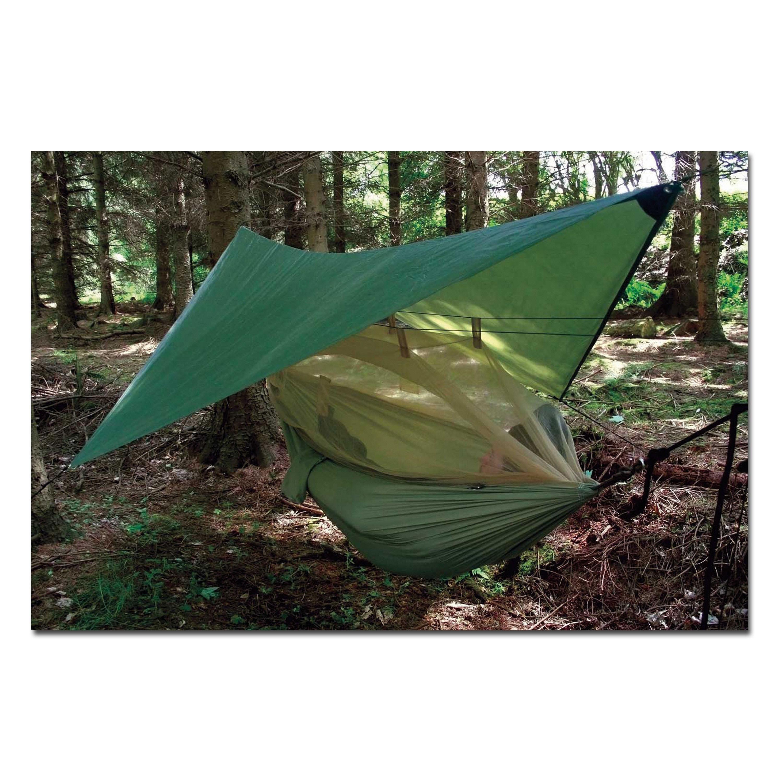 Mosquitera verde oliva con bolsa transporte acampada militar outdoor Combat