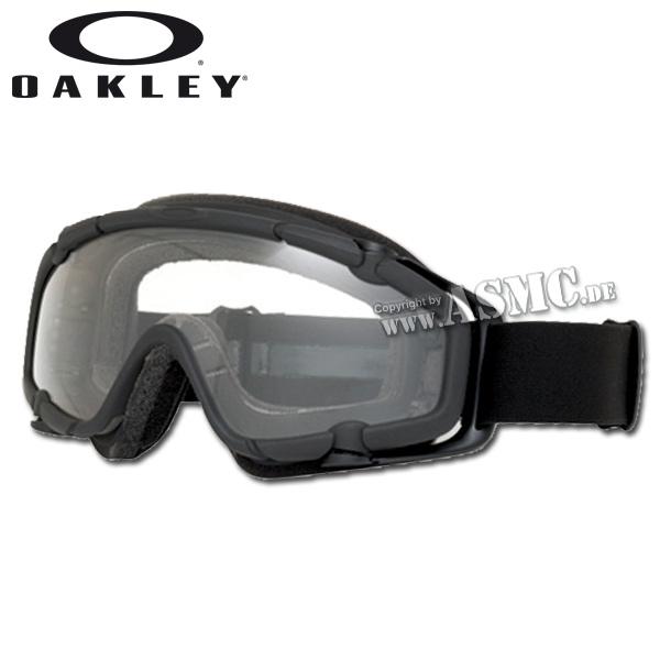 Gafas Oakley S.I. Ballistic Goggle negro/transparente
