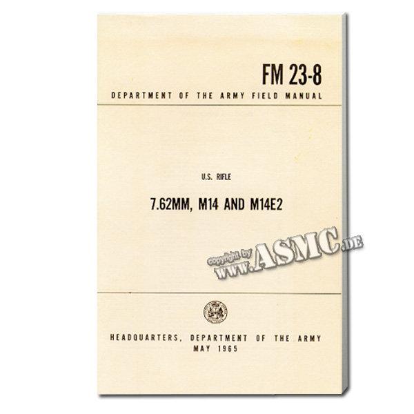 Libro 7.62 mm, M14