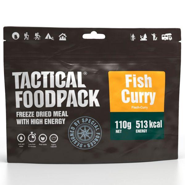 Tactical Foodpack Outdoor Alimento Curry de pescado y arroz