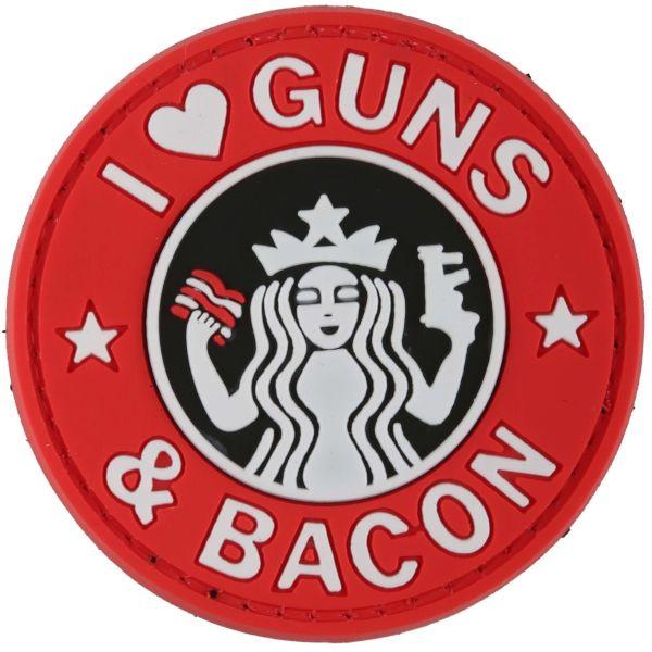 Parche - 3 D TAP Guns and Bacon fullcolor