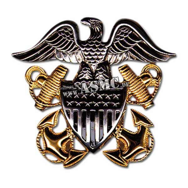 Insignia gorra US Navy Offizier