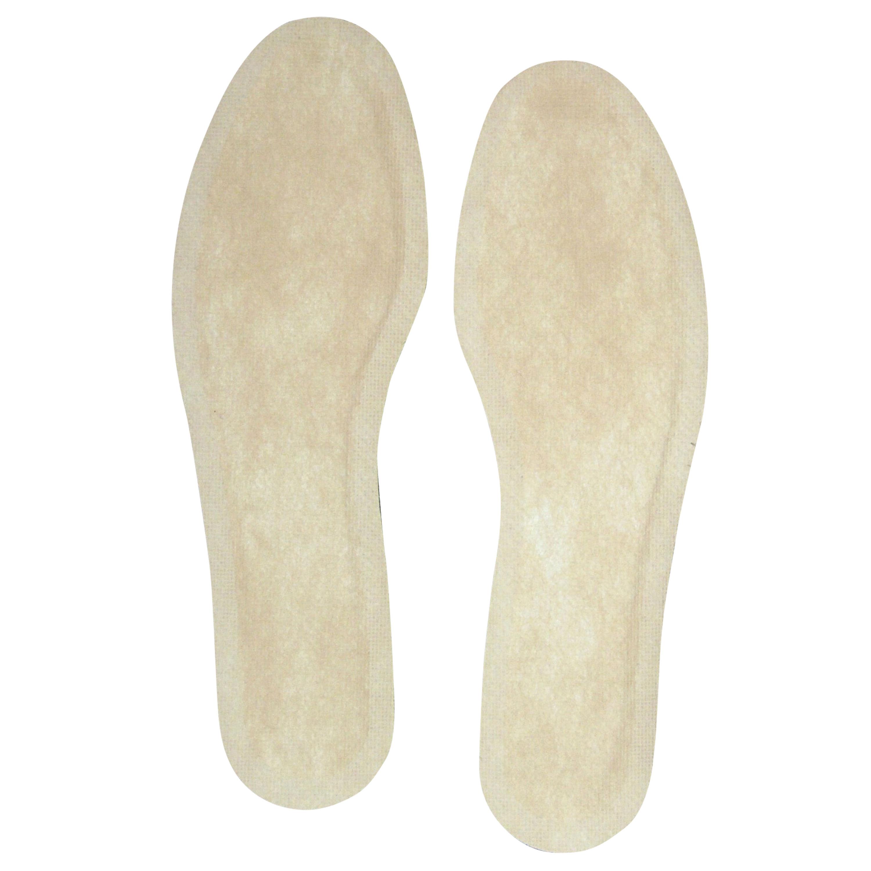 Plantillas para calentar pies