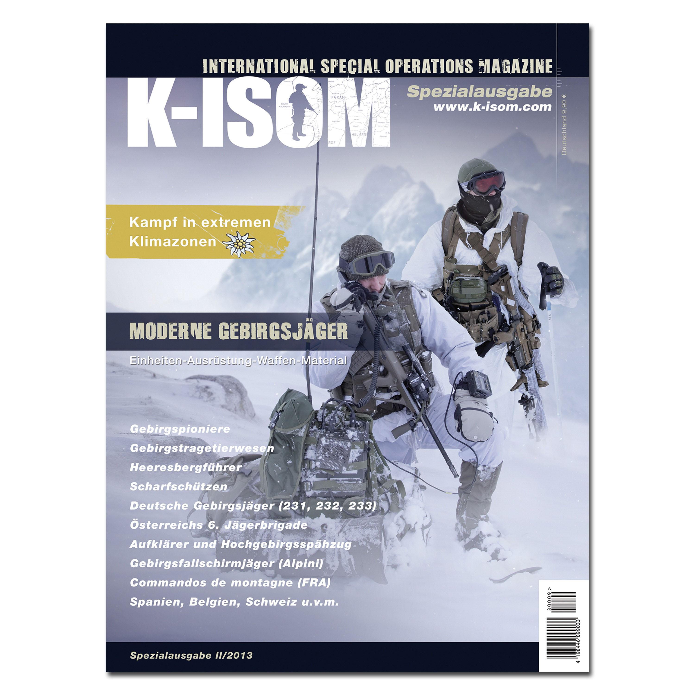 Revista comando K-ISOM Edición Especial 02-13 Mod. Gebirgsjäger
