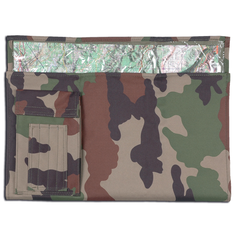 Porta planos pegable camuflaje-CCE