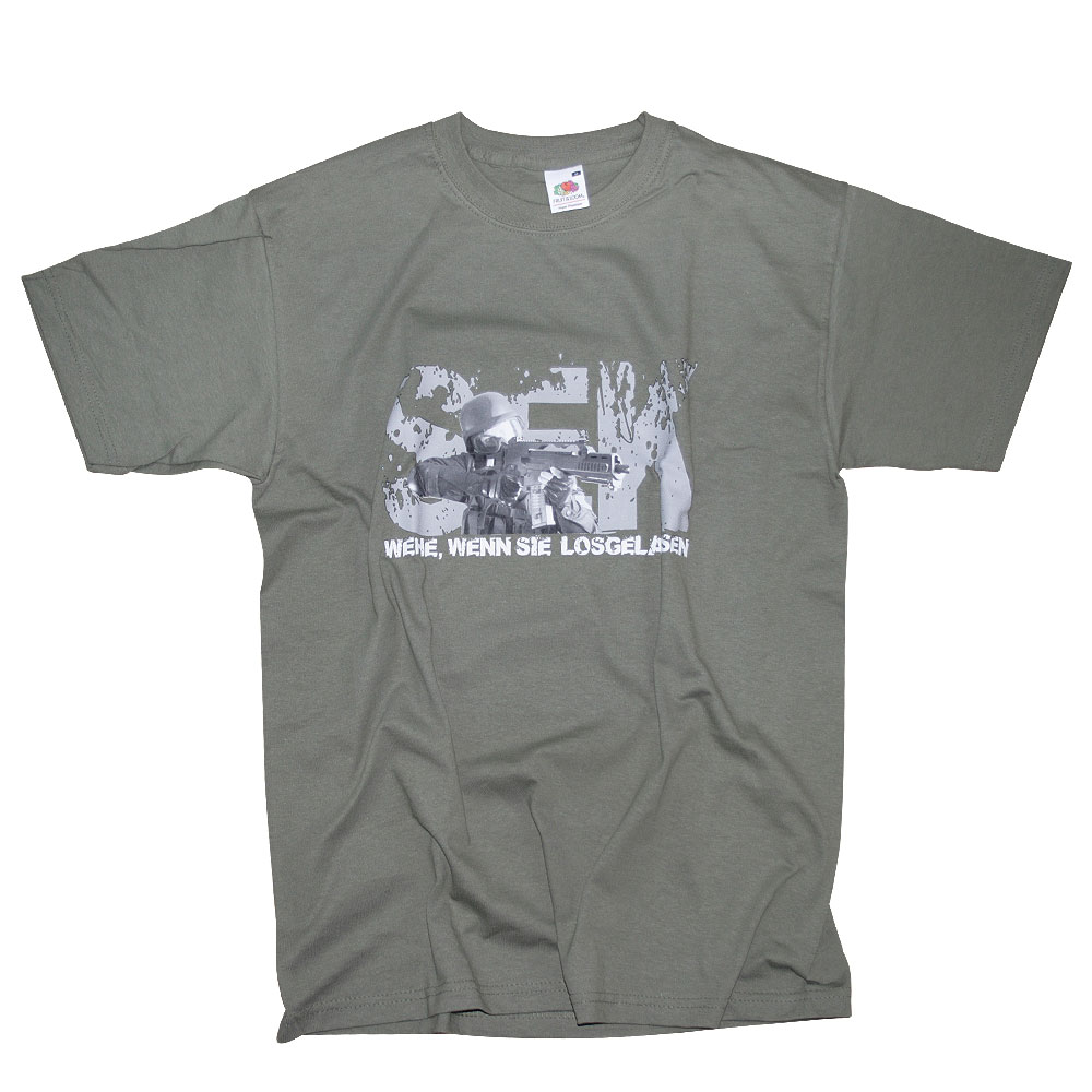 Camiseta SEK Milty69 verde oliva