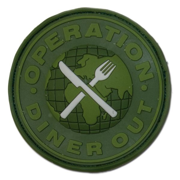 Parche 3D Operation Diner Out forest